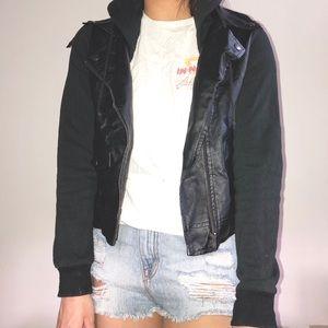 STUSSY Leather Jacket